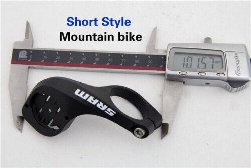 Road MTB Bicycle Short Computer Mount Bike Long handlebar support Garmin Edge