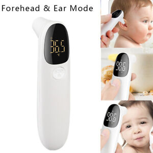 Digital-Infrared-Forehead-Ear-Thermometer-NON-CONTACT-Temperature-Gun-Baby-Adult