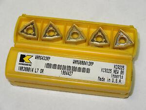 10-new-KENNAMETAL-WNMG-433-RP-KC9225-Carbide-Inserts-WNMG080412RP-1864427-USA