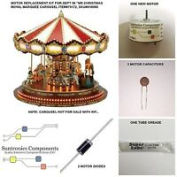 Mr Christmas Royal Marquee Carousel-item79172 -replacement Part - Motor Kit
