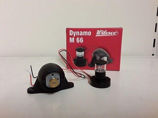 NEW WILESCO M66 DYNAMO & LAMP