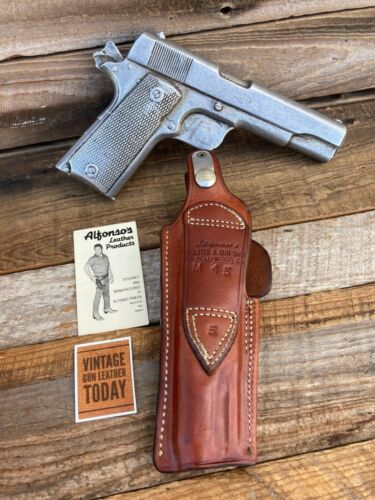Alfonso/'s Of Hollywood Leather OWB IWB Holster for Colt .45 1911 Government 1
