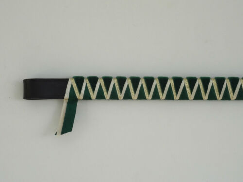 Green cream & gold everyday velvet Cornerstone Browband