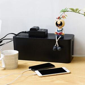 Plug Cable Storage Box Case Cord Wire