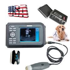 Handheld Vet Veterinary Ultrasound Scanner Machineprobe For Farm Cow Animals Ce