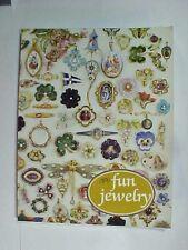 Fun Jewelry Costume Guide Book Nancy N. Schiffer! A Nice Book in Color!