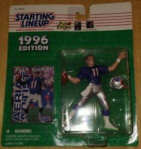 1996 Drew Bledsoe New England Pats Starting Lineup figure Kenner mint condition