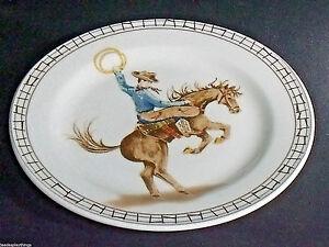 Americana-Atelier-Cowboy-Insalata-Piatto-Nuovo-con-Etichetta-7-5-034-Cina