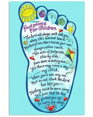no frame To My Daughter Vertical PosterWall Decor Poster