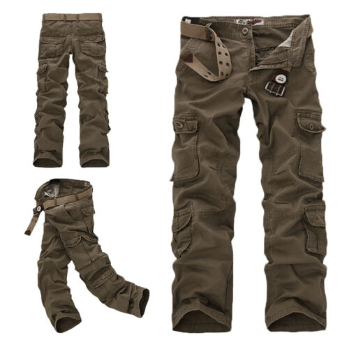 UK ARMY CARGO CAMO COMBAT MILITARY MENS TROUSERS CAMOUFLAGE PANTS/_CASUAL New