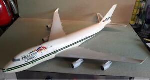Vintage Travel Agents Desk Model of Boeing 747 Airliner Holland Casino Logo