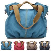 New Women Handbag Shoulder Crossbody  Purse Canvas Satchel Messenger Hobo Bag ❤