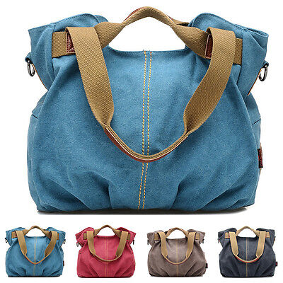 New Women Handbag Shoulder Crossbody  Purse Canvas Satchel Messenger Hobo Bag ❤