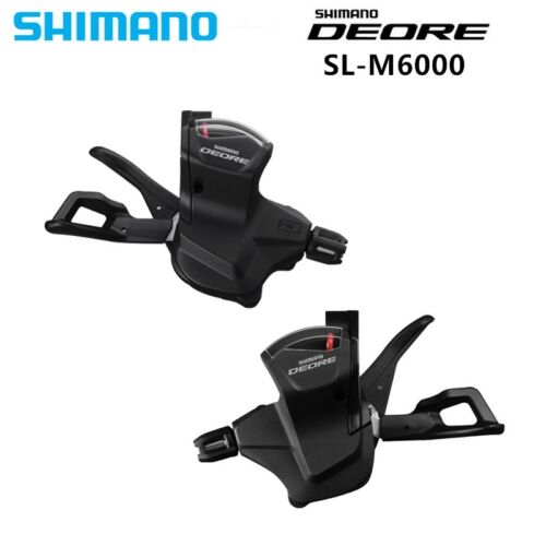 SHIMANO DEORE SL-M6000  Shifter Lever Trigger Left /& Right With Inner Cable