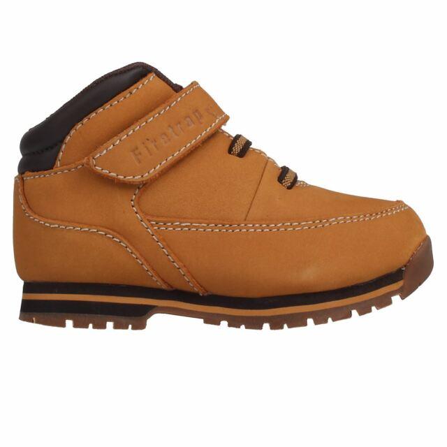 Firetrap Boys Black Leather School Boots Size Uk 10 Infant Boys' Shoes Kids' Clothing, Shoes & Accs
