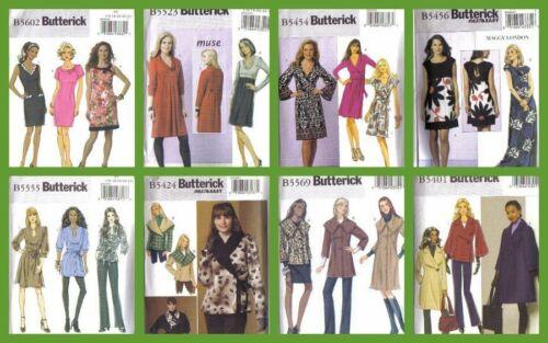 OOP Butterick Sewing Pattern Coats Dress Misses Plus Size 16 18 20 22 24
