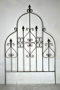 Details About Wrought Iron Ex Lg Egyptian Trellis Plant Support Garden Vine  Growing Accent