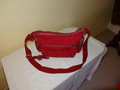 Kipling Handtasche beere mit Äffchen ca.35cm breit u. 20cm hoch