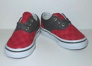 New Vans Toddler Boys Era Checkered Canvas Athletic Shoes Us 5 Uk 6 Eu 21 Ebay