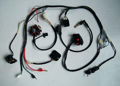 s l400 complete electrics atv quad 200cc 250cc cdi wire harness zongshen