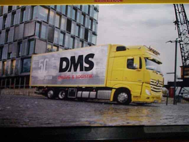 1  87 Wiking Mercedes LP312 und Actros Lastzug 50 Jahre DMS SetHerregud