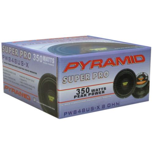 WOOFER NERO PYRAMID PW848USX 20,00 CM 175 WATT RMS IMPEDENZA 8 OHM CASA DISCO