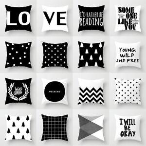 Case Throw Pillow 18/'/' Waist Cushion Home Decor Sofa Polyester Cover