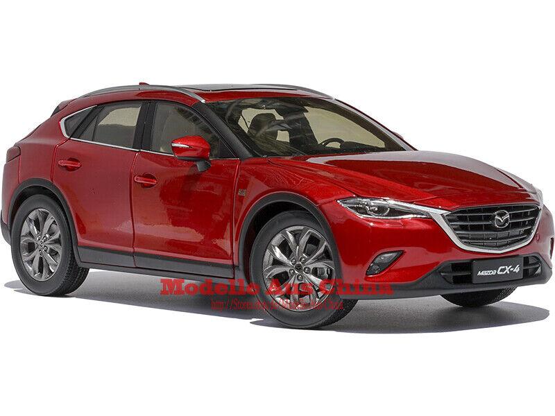 1 18 FAW Mazda 2016 CX-4 Rubinrot Metallic (Soul rot M.) Händler Auflage
