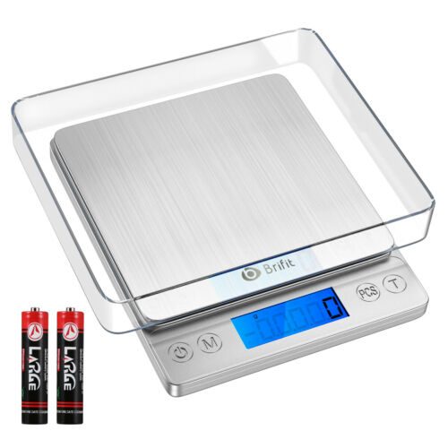 1g/&5000g Digital Electronic Balance Kitchen Jewellery Gold Food Weighing Scale