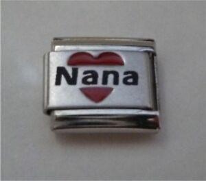 9mm-Italian-Charm-L80-Nana-with-love-heart-Fits-Classic-Size-Bracelet