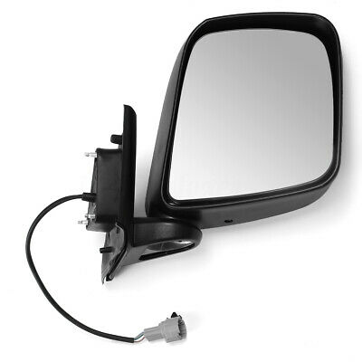 Right Driver Side Electric Wing Mirror Black LHD RHD For Nissan NV200 2010