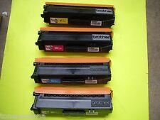 4 Genuine Brother HL-L8350CDW HL-L8250CDN HL-L9200 MFC8600 Color Printer TONER