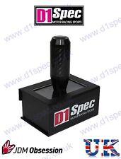 D1 Spec CARBONIO Pomello del cambio 5MT / 6mt NERO CIVIC TYPE R ACURA INTEGRA RSX S2000 Fit