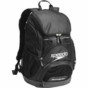 Speedo-35L-Teamster-Backpack-Black-Swim-Bag-Swimming-Backpack