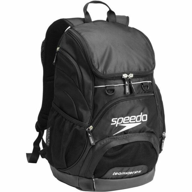 Speedo 35L Teamster Backpack Black / Swim Bag, Swimming Backpack