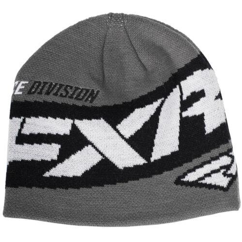 FXR Podium Beanie Hat Charcoal//Black//White
