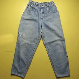 da4ad9e8 Vintage Lee Womens High Waist Tapered Leg Mom's Jeans Size 12 Wide ...