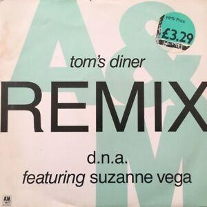 DNA-Featuring-Suzzanne-Vega-Tom-039-s-Diner-Remix-Twelve-Inch-Single-12-034-Vinyl