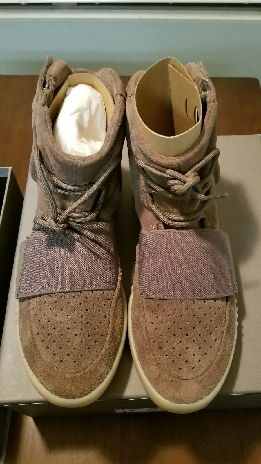 Adidas Yeezy Boost 750 Light Brown Chocolate Gum BY2456 11 v2 Kanye West DS