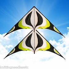 """2X 84"""" Sport Stunt Kite Dual-Line X-LARGE 7 FT WING SPAN Prism Delta Outdoor Fly"""
