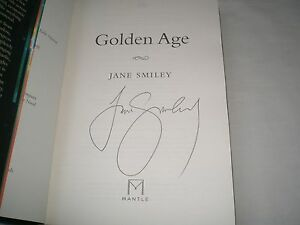 JANE-SMILEY-Golden-Age-SIGNED-1-1-Hb-2015-LAST-HUNDRED-YEARS-book-3