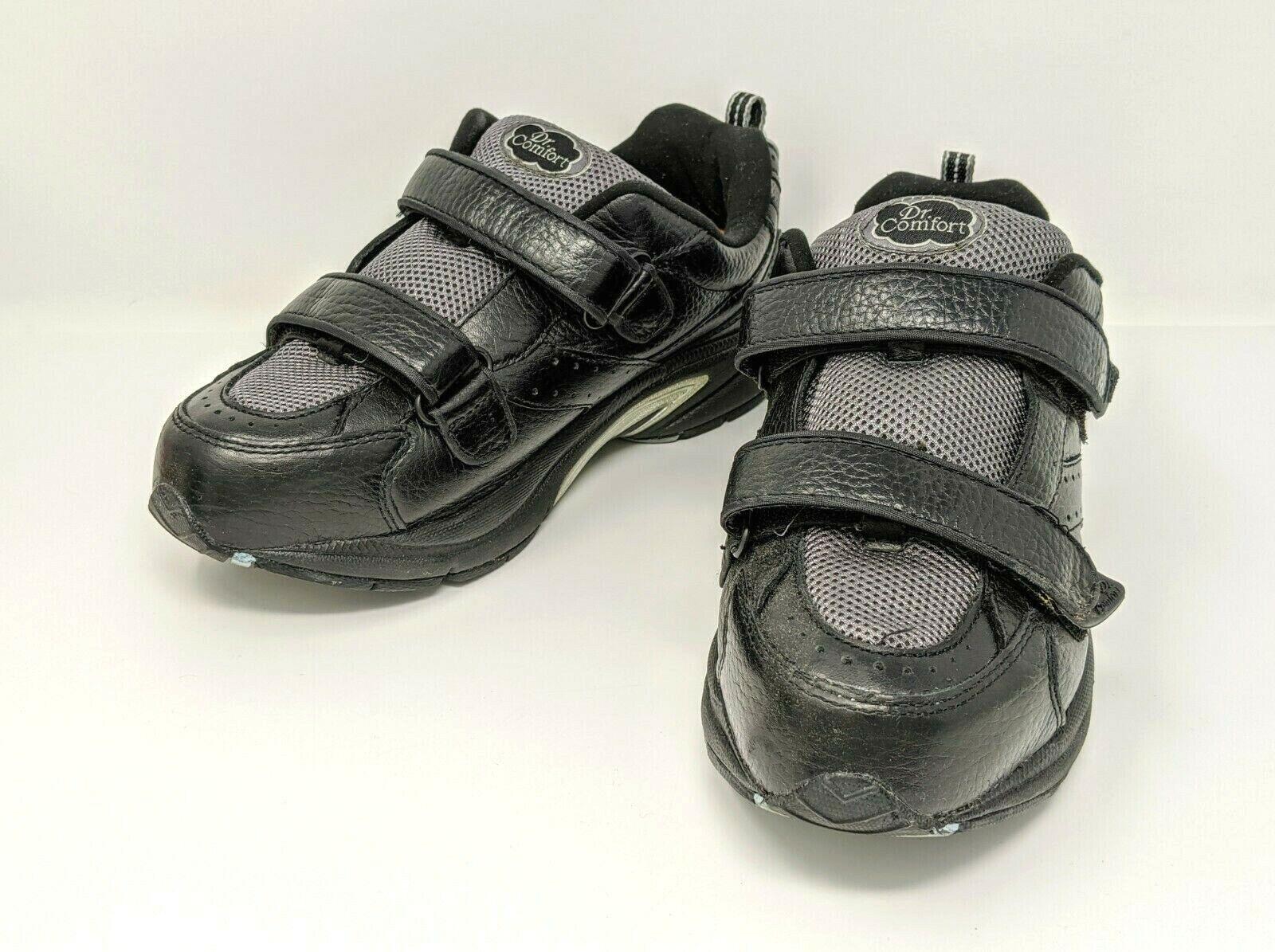 Dr Comfort - Spirit X Depth (2410) - Black Diabetic Comfort Shoes - Women's US 9