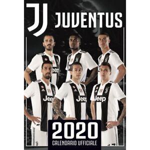 Official Juventus 2020 Calendar Ships From Usa Cristiano Ronaldo 17 X 12 Ebay