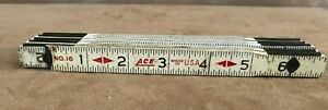 Ace-Hardware-store-Vintage-Folding-Advertising-Yard-Stick-Rule-ruler-wood-wooden