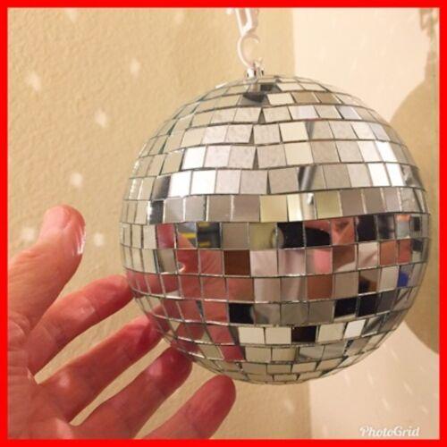 Mousseux lumière 6 in environ 15.24 cm Disco Miroir Balle Party On très belle taille