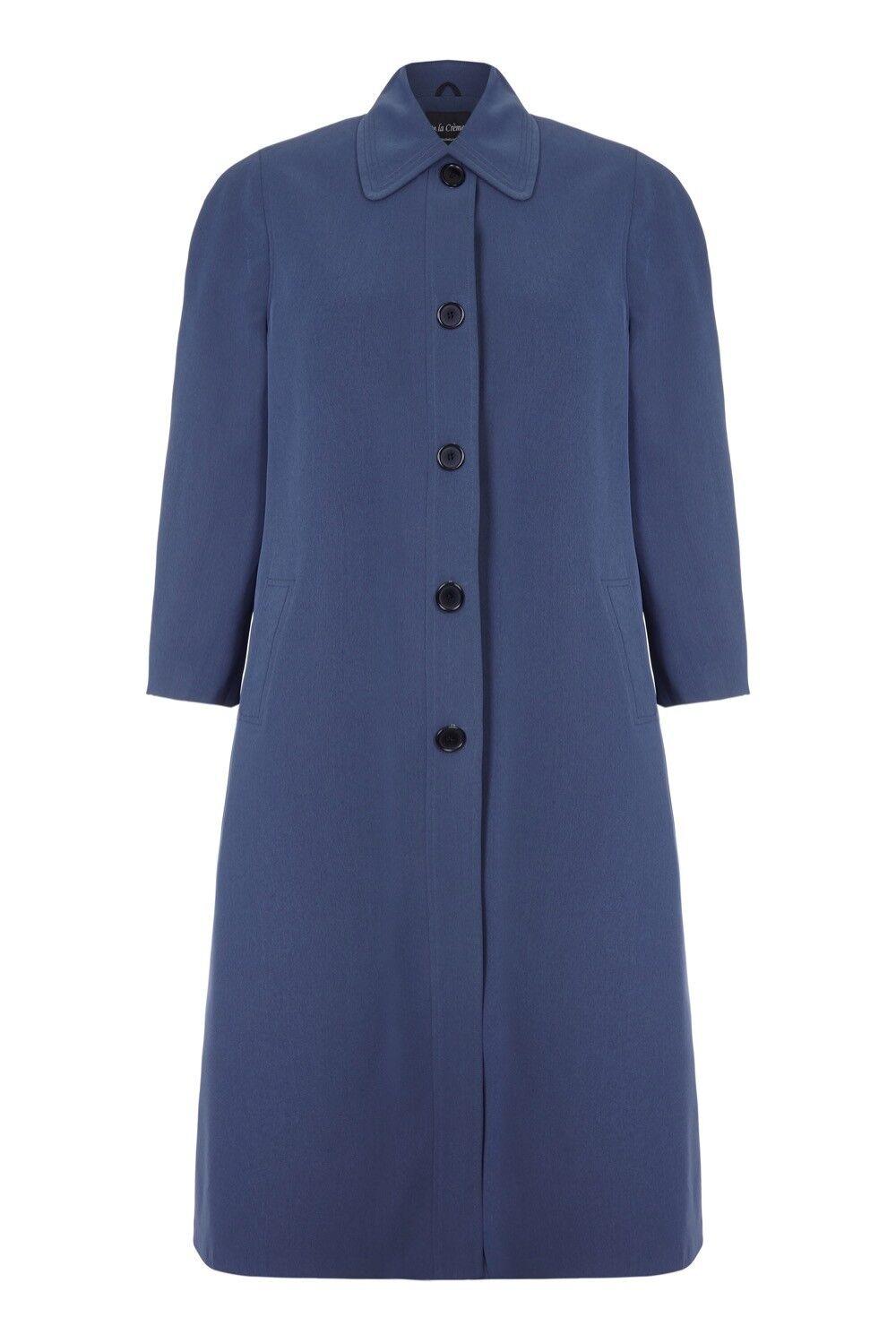 De LA Creme - Women`s Spring Long Raincoat