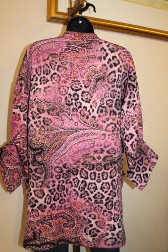 3s990 søstre xl Kvinder S 3 Wrap Made Frock Usa 5275 Frakke Kimono jakke m PdppWq