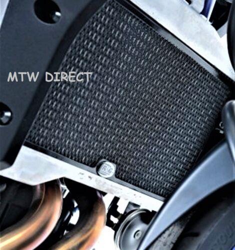 R/&G RACING BLACK RADIATOR GUARD COVER Yamaha MT-07 MOTO CAGE 2015