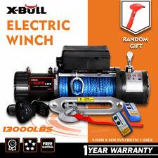 X-BULL 13000lbs Electric Winch 12V Truck SUV Jeep Truck 4WD 2 Remote Control