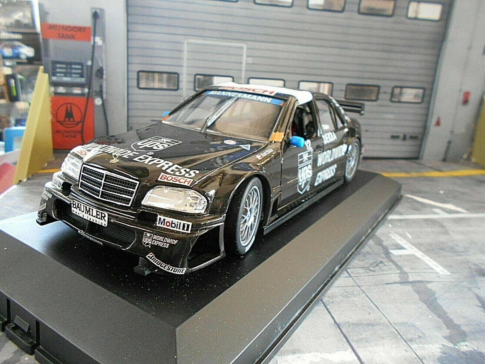 Mercedes Benz C Class AMG DTM ITC 1996 THIIM UPS UT Exclusive Cars 1 18